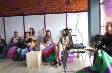 Buriasi kūrybinga ir inovatyvi bendruomenė