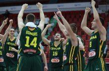 Lietuvos 20–mečių krepšinio rinktinė tenkinosi Europos pirmenybių sidabru