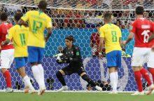 Penktadienio FIFA 2018: islandai ir brazilai sieks pirmųjų pergalių