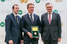 Klaipėdos uoste – metų gaminio apdovanojimai