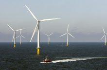 Danijos vėjo jėgainės gali atsirasti ir prie Lietuvos krantų