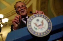 JAV Senatas priėmė teisė aktą dėl sankcijų Rusijai, Iranui ir Šiaurės Korėjai