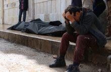 Sirijoje per koalicijos aviacijos antskrydžius žuvo apie 80 žmonių