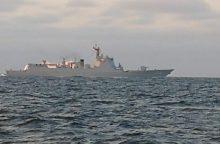 Lietuva atidžiai stebi Rusijos ir Kinijos pratybas Baltijos jūroje