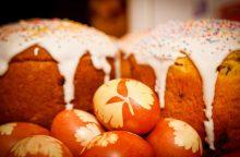 Per Velykas namai turi kvepėti pyragais