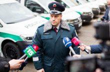 Lietuvos policijai – 20 naujų automobilių