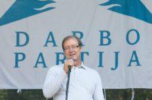 V. Uspaskichas grįžo į Darbo partiją