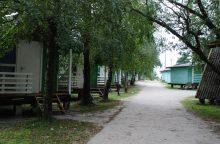 Teismas nusprendė dėl medinių namelių Šventojoje likimo