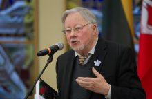 V. Landsbergis: laisvė buvo skirta suformuoti kitokią Lietuvą