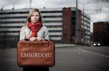 Apklausa: beveik trečdalis lietuvių norėtų emigruoti