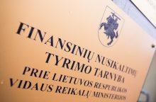 Kredito unijos buhalterija: seife vietoj 122 tūkstančių – 0,95 euro