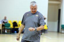 V. Garastas: naujam treneriui bus sunkiau