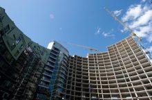 Didmiesčiuose statybų – vis daugiau, bet regionai stagnuoja