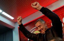 Po parlamento rinkimų Juodkalnijoje – neaiškumas