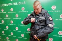 Kaip atrodys naujos policininkų uniformos?