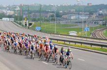 Dėl dviračių lenktynių Kaune bus ribojamas eismas