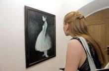 Paveikslai, gimę iš dailininko meilės balerinai
