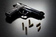 Švenčionių rajone vyras nelegaliai laikė šaunamuosius ginklus