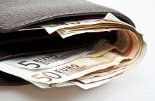 Apie 15 tūkst. eurų vagystę senjoras pranešė po mėnesio