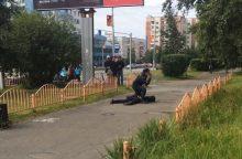 """Rusijoje nukautas skerdikas – """"Islamo valstybės"""" karys"""