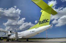 """2016-aisiais """"airBaltic"""" džiaugėsi augimu ir pelnu"""