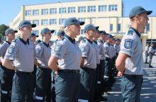 Kursantai pradėjo praktiką policijos komisariatuose