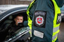 Per savaitę sostinėje įkliuvo 26 neblaivūs vairuotojai