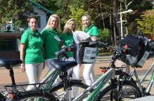 """VMI """"dviratininkai"""" tęsia konsultacijas šalies kurortuose"""