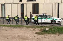 Kaune per popiežiaus vizitą policija sulaikė neblaivų vyrą
