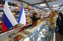 Maistas Rusijoje šiemet brango keturis kartus sparčiau nei ES