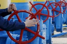"""""""Naftogaz"""": Rusija ruošiasi nutraukti dujų tranzitą per Ukrainą"""