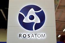 """""""Rosatom"""": Astravo AE reaktoriai pradės veikti 2020-ųjų vasarą"""