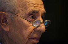 Sh. Peresas: vieniems taikos partneris, kitiems – nusikaltėlis