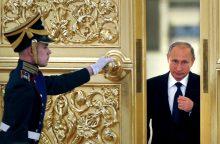 Politologas: V. Putinas per kvailumą savo tikrąjį veidą parodė ne laiku