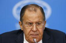 Maskva gali grįžti prie klausimo dėl Rusijos ir Estijos sienos