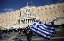 Euro zonos ministrai sieks proveržio sprendžiant Graikijos skolų klausimą