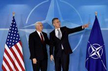 Politikos ekspertas: NATO sustiprės, jei JAV atnaujins strategiją