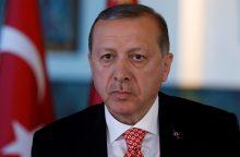Turkijos prezidentas intensyvina antivakarietišką retoriką