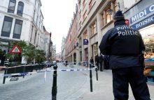 Briuselyje per išpuolį peiliu sužeistas policininkas
