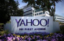 """Kibernetinė ataka pavogė 500 mln. """"Yahoo"""" vartotojų duomenis"""