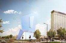 Paaiškėjo, kas kurs daugiafunkcį kompleksą Vilniaus centre