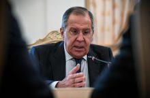 S. Lavrovas: Vakarų laikysena kursto įtampą Balkanuose