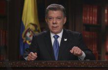 Kolumbija pradės derybas su antra sukilėlių grupuote