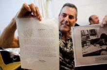 A. Einšteino laiškai aukcione nupirkti už 210 tūkst. dolerių