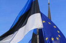 Lietuva sveikina Estiją su šimtmečiu