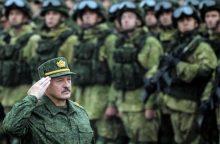 """A. Lukašenka: visos pratybų """"Zapad"""" užduotys sėkmingai įvykdytos"""