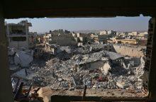 JAV ir Rusija susirems dėl dujų atakų Sirijoje tyrimo