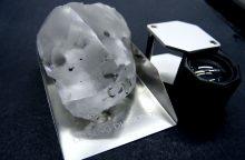 Lesote rastas penktas pagal dydį pasaulyje deimantas