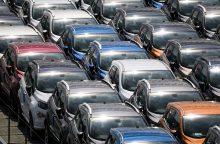 Naujų automobilių pardavimų augimas Lietuvoje – sparčiausias ES
