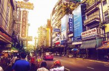 Bankokas pernai buvo populiariausias miestas tarp turistų